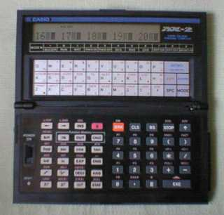 BASIC programmable calculator: Casio AX-2