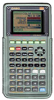 Graphing calculator: Casio CFX-9900GC