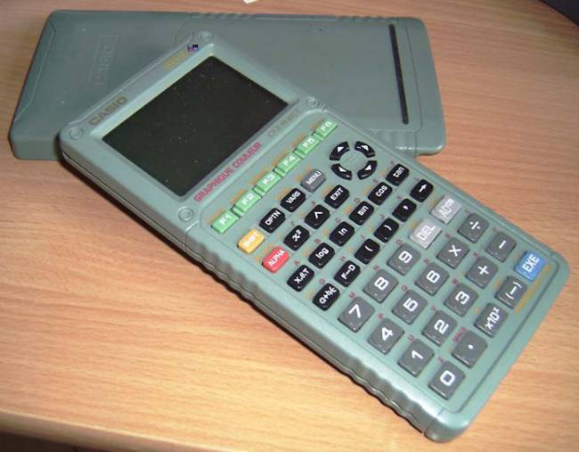 Graphing calculator: Casio CFX-9930GT