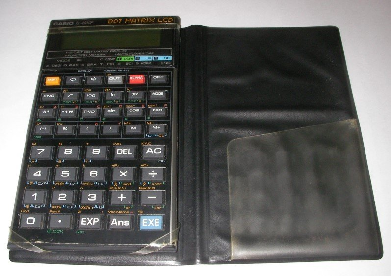 Scientific programmable calculator: Casio fx-4100P