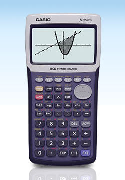 Graphing calculator: Casio fx-9860G