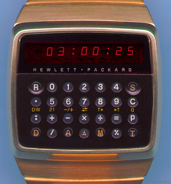 Calculator (non-programmable): Hewlett-Packard HP-01