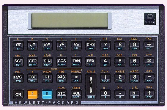 Scientific programmable calculator: Hewlett-Packard HP-11C