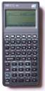 Graphing calculator: Hewlett-Packard HP-48G
