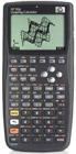 Graphing calculator: Hewlett-Packard HP-50G