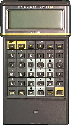 Psion Organiser II LZ 64   A collection of programmable and non