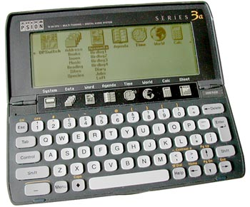 Organiser: Psion Series 3a