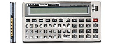BASIC programmable calculator: Radio Shack PC-3