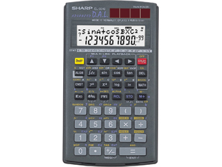 Scientific programmable calculator: Sharp EL-5040