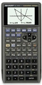 Graphing calculator: Sharp EL-9400C