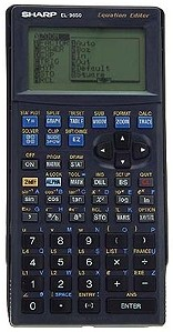 Graphing calculator: Sharp EL-9650