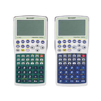 Graphing calculator: Sharp EL-9900C