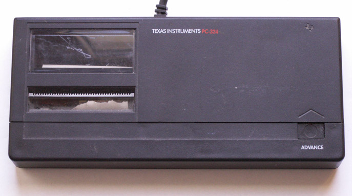 Printer: Texas Instruments PC-324