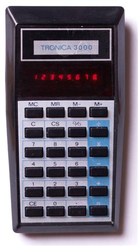Calculator (non-programmable): Tronica 3000