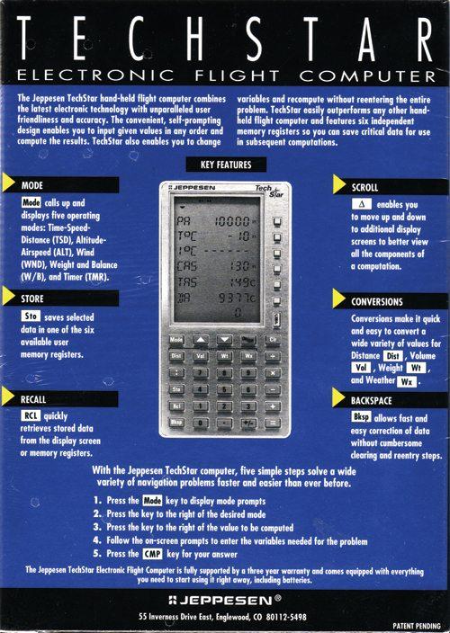 jeppesen techstar a collection of programmable and non rh calculators torensma net